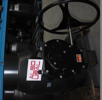Кран шаровой приварной КШ.П.400.25-01 Ду400 Ру25